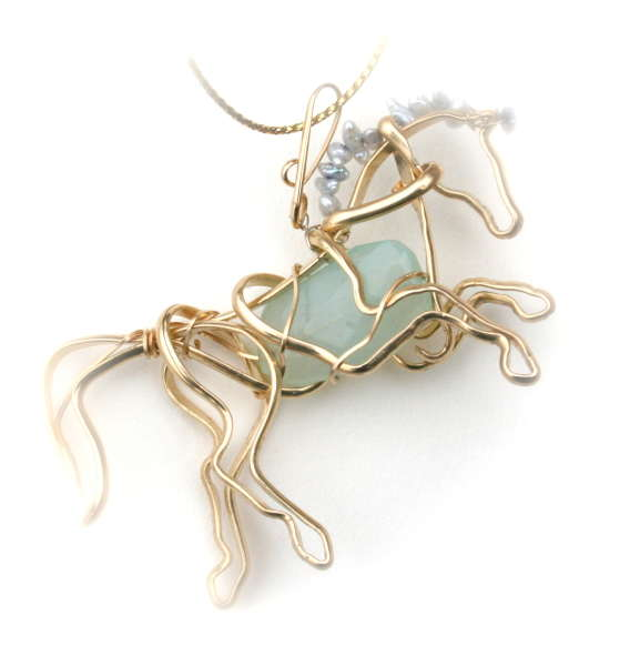 Horse Rearing with Chalcedony
